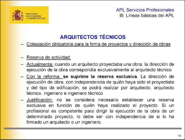 Arquitectos Tecnicos LSP