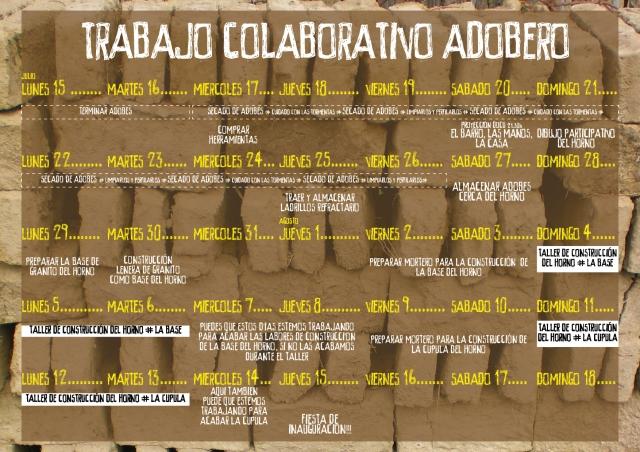 taller horno de barro_CALEDARIO
